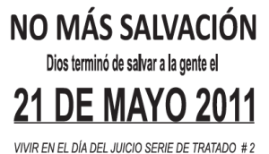 NO MÁS SALVACIÓN 2