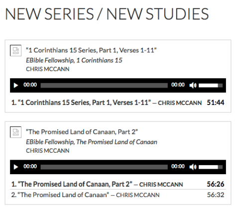 New Series : New Studies